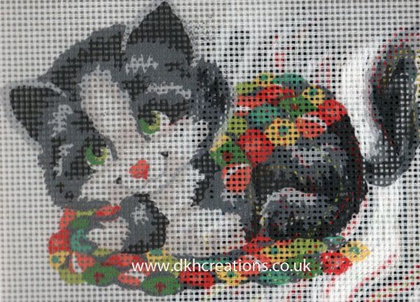 Patchwork Kitten Tapestry Kit